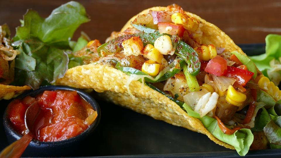 Wegańskie taco