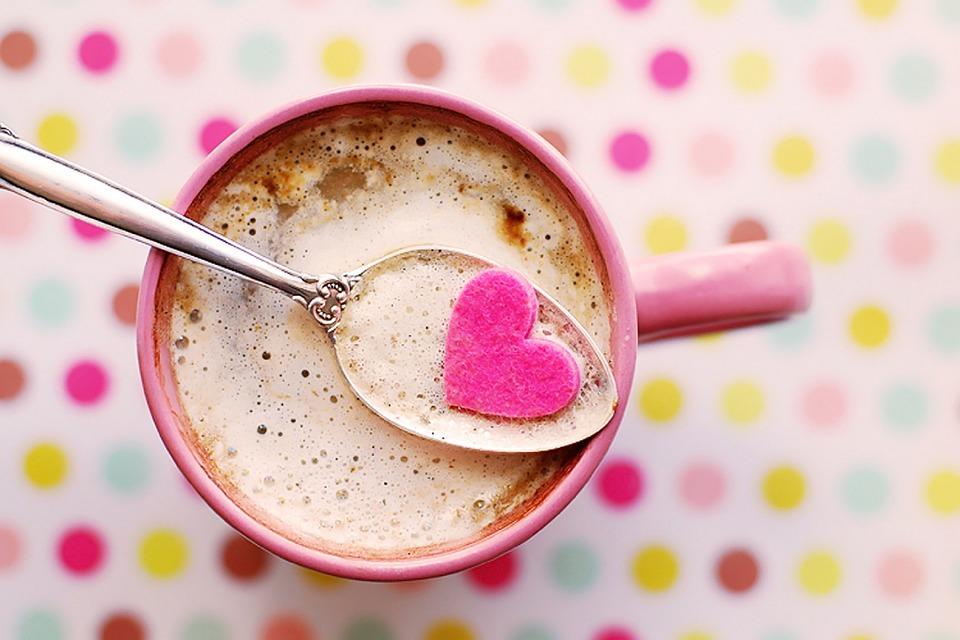 Kakao z sokiem wiśniowym