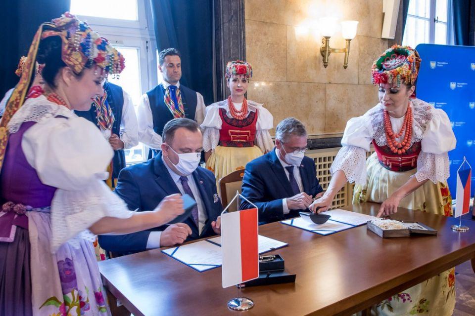 Województwo Śląskie zacieśnia współpracę z Krajem Śląsko-Morawskim - galeria