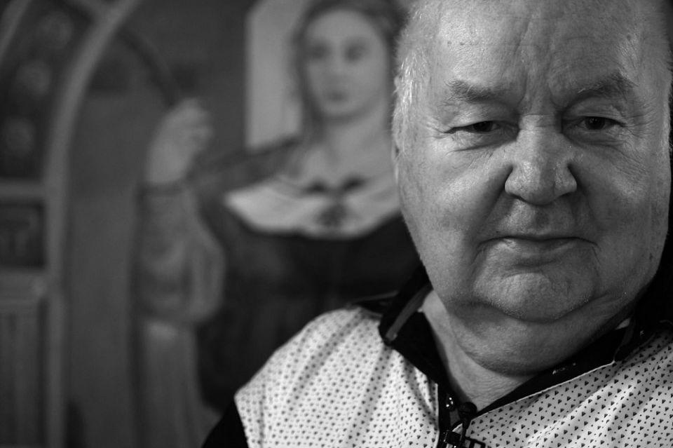 Wczoraj w wieku 84 lat zmarł wybitny malarz prymitywista - Erwin Sówka - galeria