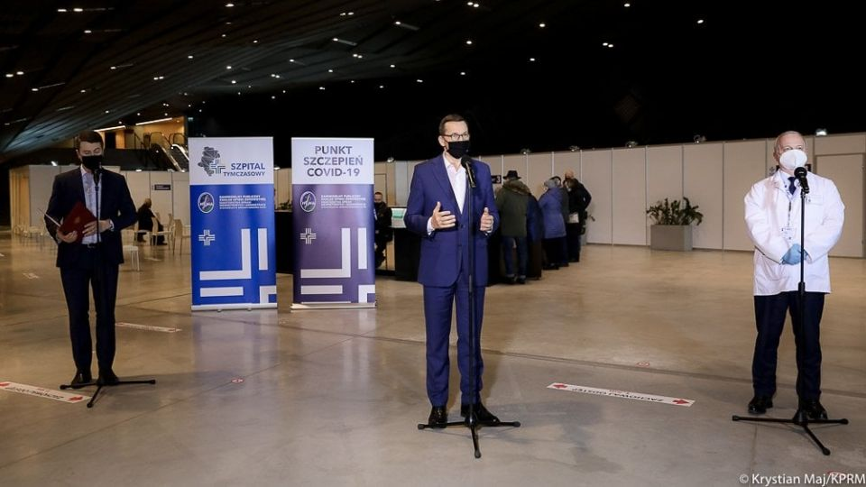 Premier Mateusz Morawiecki odwiedził dzisiaj MCK w Katowicach - galeria
