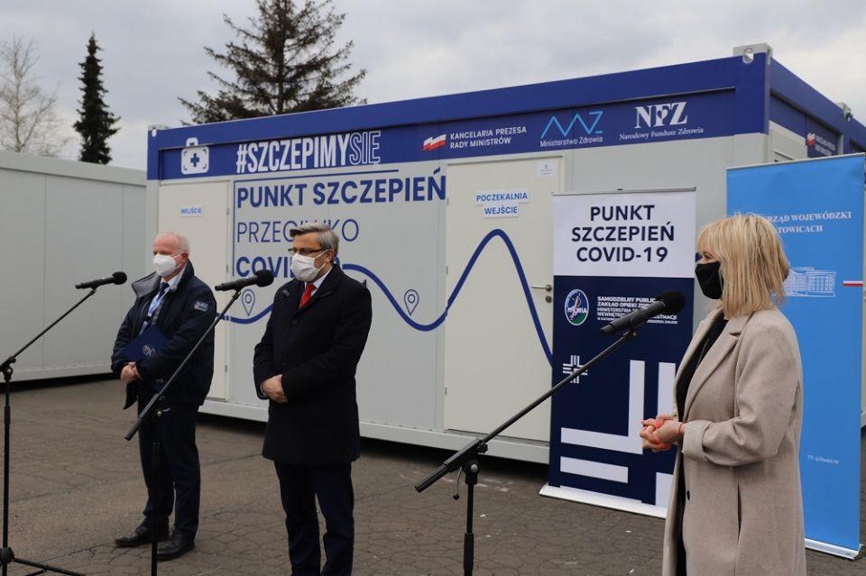 Podczas majówki w Parku Śląskim uruchomiony zostanie mobilny punkt szczepień - galeria