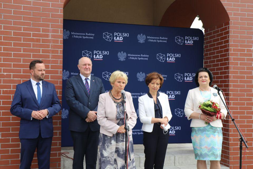 Minister Marlena Maląg z wizytą w Śląskiem - galeria