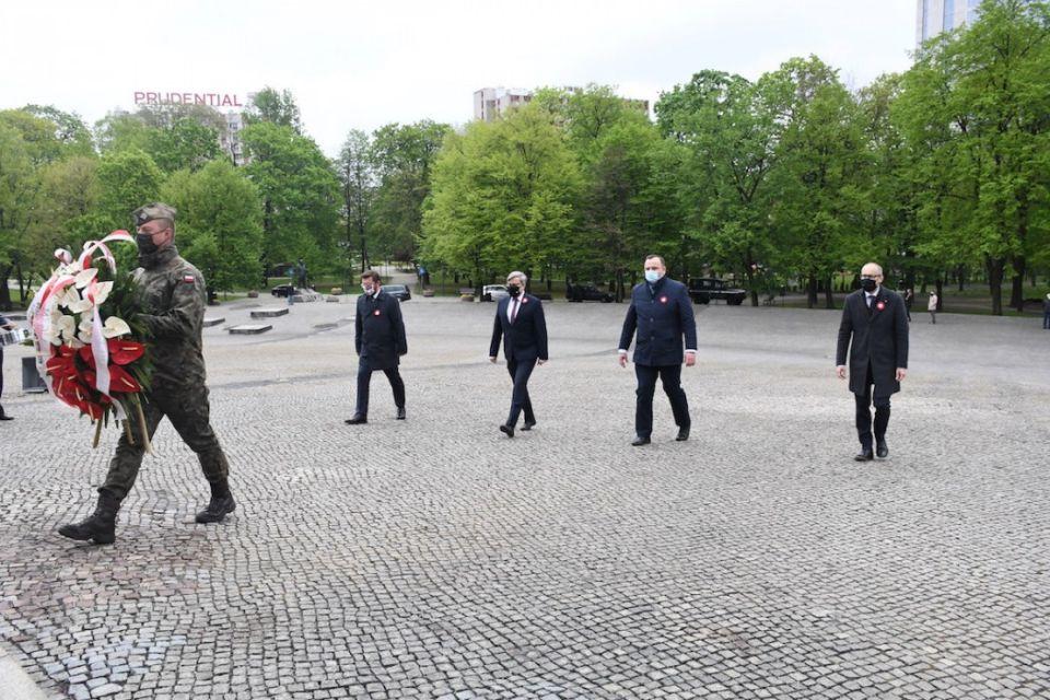 Obchody Święta Konstytucji 3 Maja i 99. rocznicy wybuchu III Powstania Śląskiego - galeria