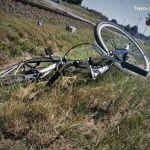 Tragedia na przejeździe kolejowym w Orzeszu. Pociąg śmiertelnie potrącił rowerzystkę - galeria