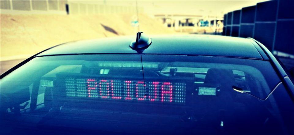 Policjanci ze specjalnej grupy SPEED zatrzymali kierowcę mercedesa, który przekroczył prędkość o 75 km/h - galeria