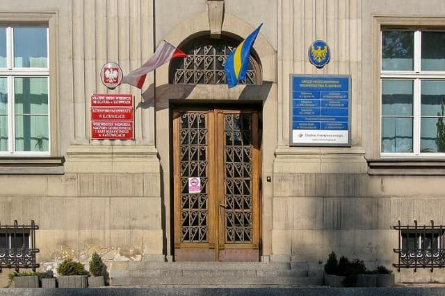 Zarząd Urzędu Marszałkowskiego woj. śląskiego poddany kwarantannie - galeria