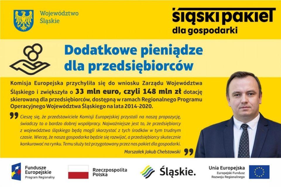 Śląskie: Dotacje dla przedsiębiorców zwiększone o 33 mln euro - galeria