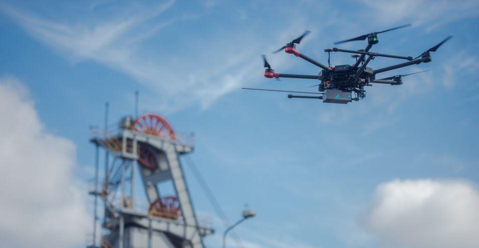 Rola dronów w miastach – ruszyły wspólne warsztaty Metropolii GZM i GovTech Polska - galeria