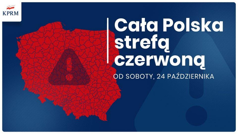 Premier: cała Polska od soboty strefą czerwoną [trwa konferencja prasowa] - galeria