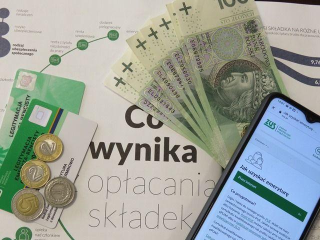 Rekordowe - najniższe i najwyższe emerytury w województwie śląskim - galeria
