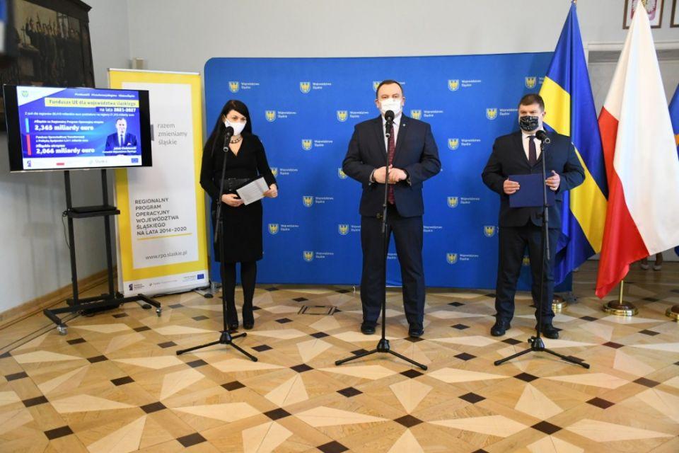 4,4 mld euro trafi do województwa śląskiego w ramach nowej perspektywy unijnej na lata 2021-2027 - galeria