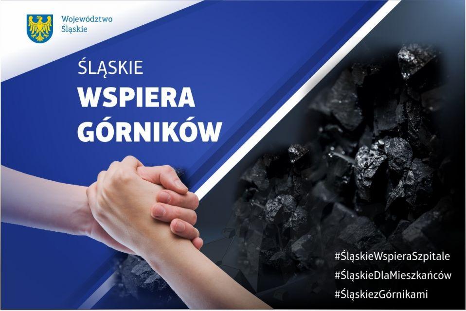 Śląskie wspiera górników. Marszałek Jakub Chełstowski do górników [WIDEO] - galeria