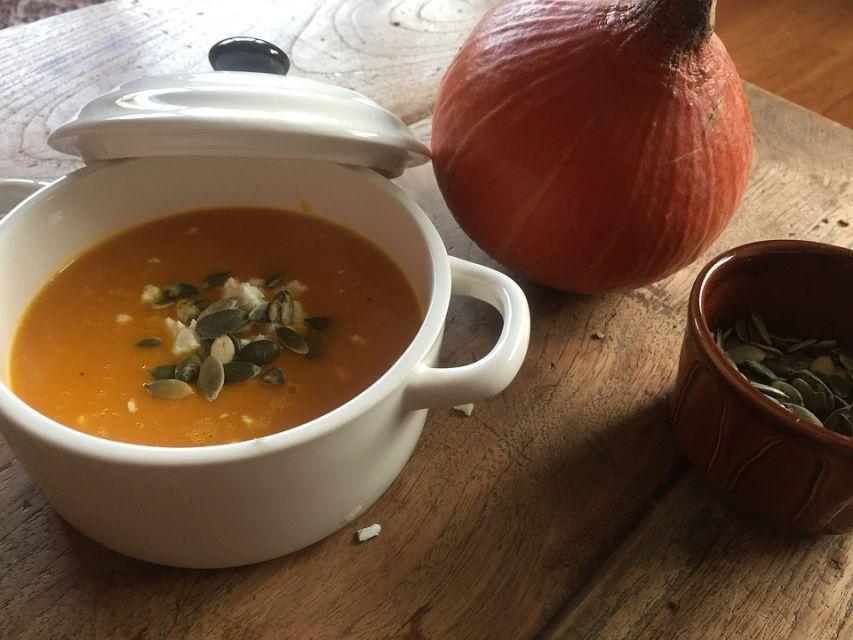 Jesienna zupa krem z dyni - galeria