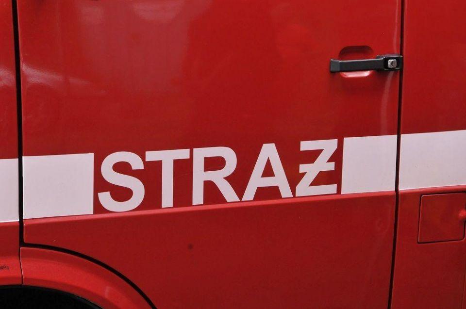 W jednym z budynków wielorodzinnych w Siemianowicach Śląskich wybuchł pożar - galeria