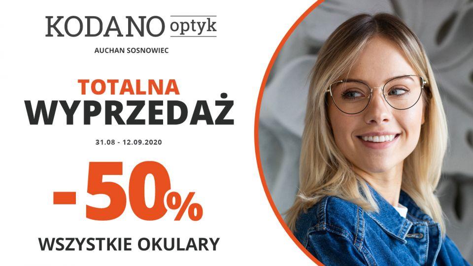 Totalna wyprzedaż w KODANO Optyk! Wszystkie okulary 50% taniej! - galeria