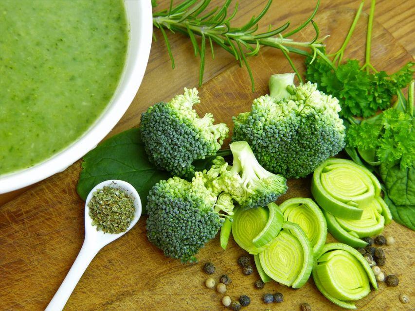 Krem z brokułów - galeria