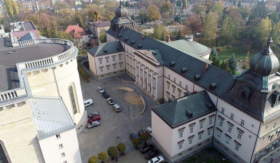 Koronawirus dotarł do Kurii Metropolitarnej w Katowicach - galeria