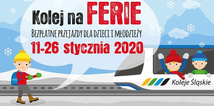 W czasie ferii dzieci i młodzież będą mogli podróżować Kolejami Śląskimi za darmo! - galeria