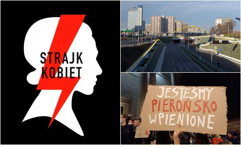Strajk Kobiet: Protestujący zablokują w piątek DTŚ od Gliwic do Katowic - galeria