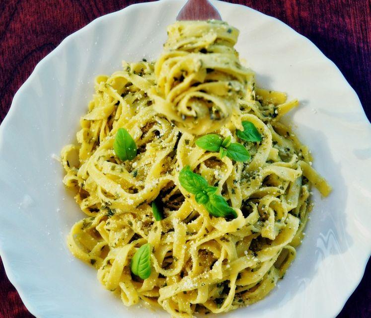 Pesto spaghetti - galeria