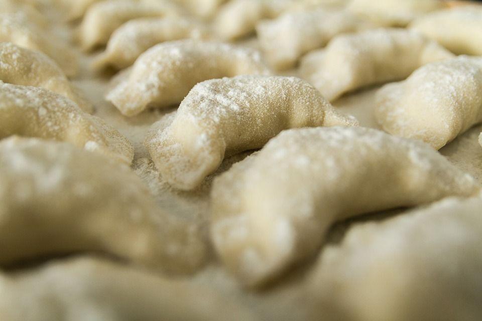 Pierogi z dynią w sosie szałwiowym - galeria