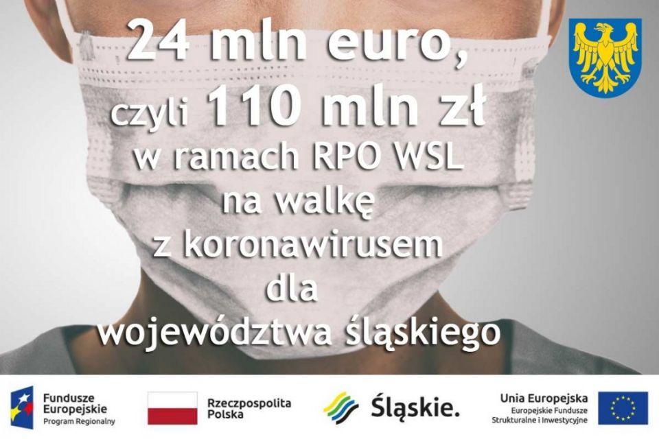 Miliony na walkę z koronawirusem w województwie śląskim - galeria