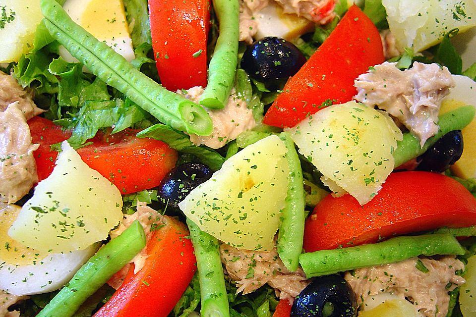 Sałatka z ziemniakami i tuńczykiem - galeria