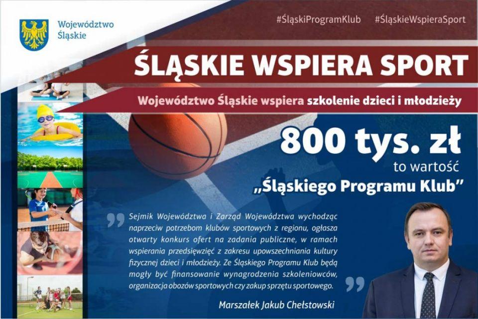 Śląski Program Klub. 800 tys. zł trafi do klubów sportowych z regionu - galeria