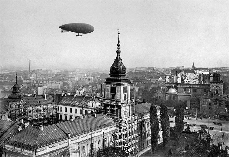 Sterowiec na śląskim niebie! We wrześniu nad województwem śląskim przeleci Zeppelin ZF - galeria