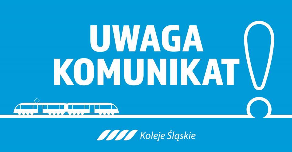 Koronawirus -ograniczenia w rozkładzie jazdy pociągów Kolei Śląskich - galeria