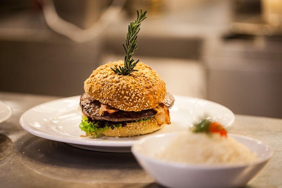 Wegańskie burgery - galeria