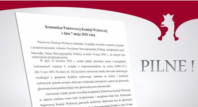 Państwowa Komisja Wyborcza: Przeprowadzenie wyborów 10 maja jest niemożliwe - galeria