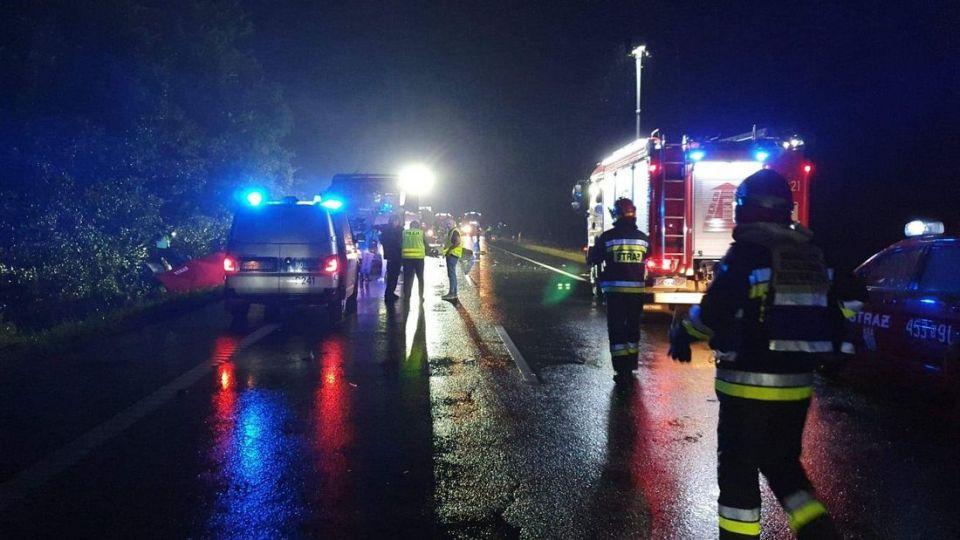 Sprawcą sobotniej katastrofy może być 67-latek z Cieszyna. Mężczyzna został zatrzymany - galeria