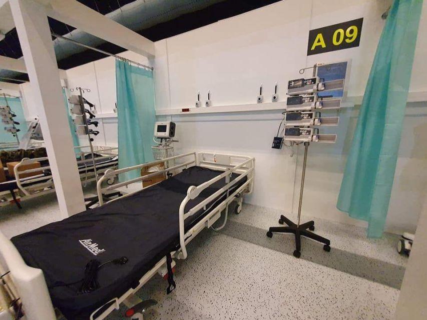 Ratownicy górniczy będą pracować w szpitalu tymczasowym w Katowicach - galeria
