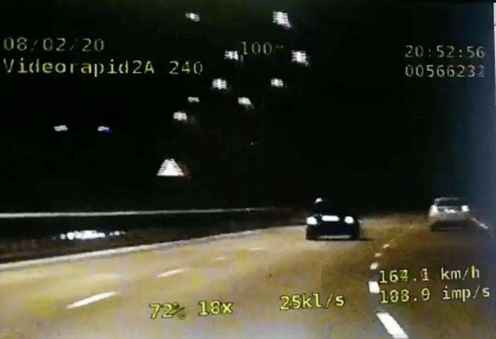 Policyjny pościg w Gliwicach. Młody kierowca poruszał się z prędkością 200 km/h na DTŚ - galeria